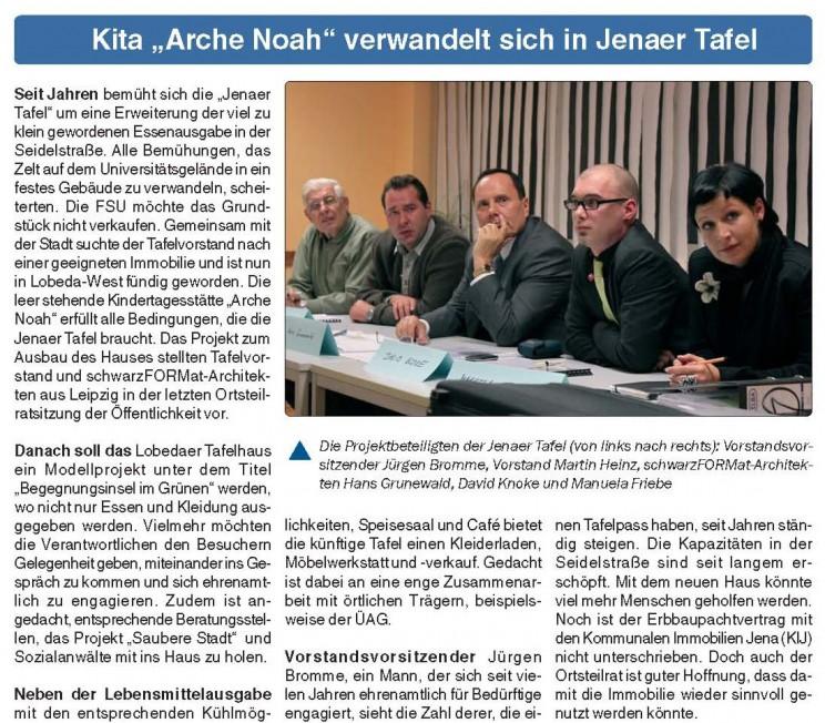 Stadtteilzeitung Jena_November 2009